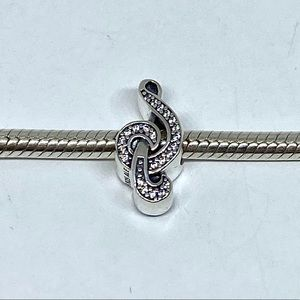 Pandora Sweet Music Sterling Silver Charm